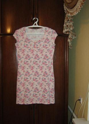 Ночная сорочка tu, 100% хлопок, размер 10