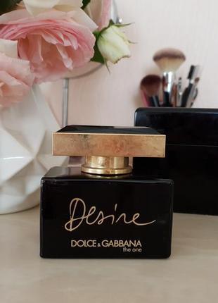 Аромат dolce&gabbana the one desire 50ml