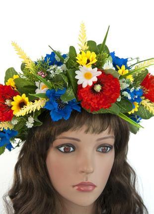 Украинский цветочный венок цветана
