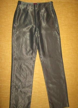 Шелковые брюки kenzo оригинал высокая талия