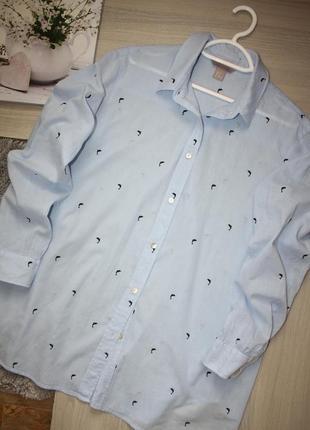 Нежнейшая,воздушная , хлопковая рубашка!