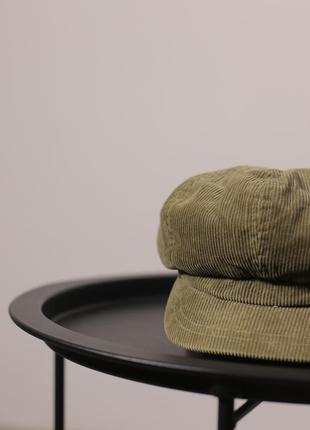 Вельветова кепка accessorize
