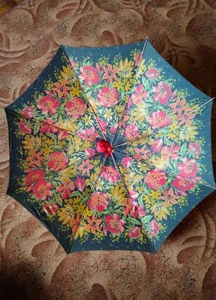 Зонт зонтик парасолька парасоля ретро винтаж ссср рабочий