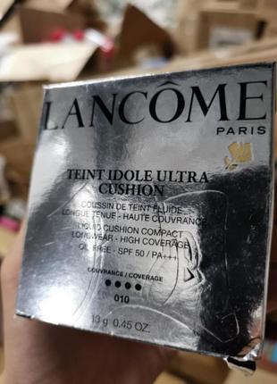 Тональный кушон lancome teint idole ultra cushion оттенок 010