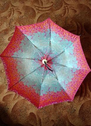 Зонт зонтик парасолька парасоля ретро винтаж ссср автомат рабочий