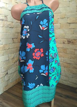 Летнее платье сарафан l,xl next