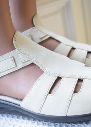 Кожаные босоножки сандали сандалии hotter р.42 26.8 см