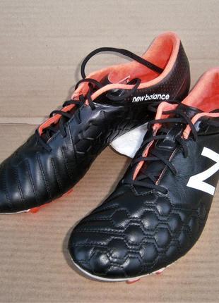 Бутсы new balance visaro pro k lite leather soccer cleat msvrkfbl оригинал