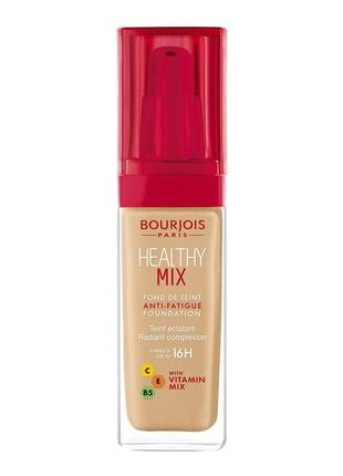 Тональна основа healthy mix від bourjois