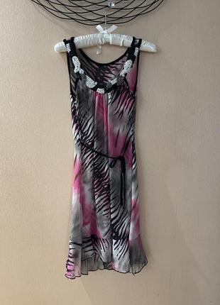Платье сарафан шелк twin set