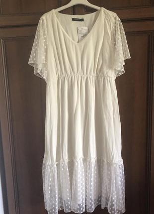 Сукня молочна для вагітних