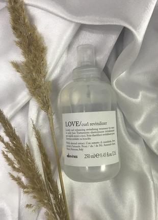 Спрей контролюючий завиток davines love curl revitalizer spray