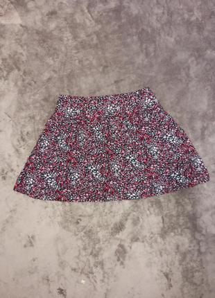 Котоновая легкая воздушная юбка