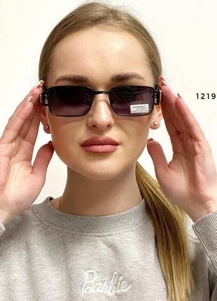 Вузькі прямокутні сонцезахисні окуляри к. 12198
