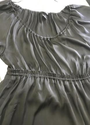 H&m  легкое атласное платьице