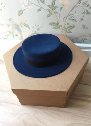 Канотье (шляпа) из фетра covernumberone