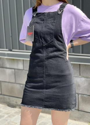 Жіночий саоафан джинсовий чорний сірий білий хакі