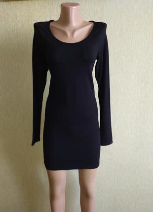 Фирменное платье футболочного типа, р.34-36