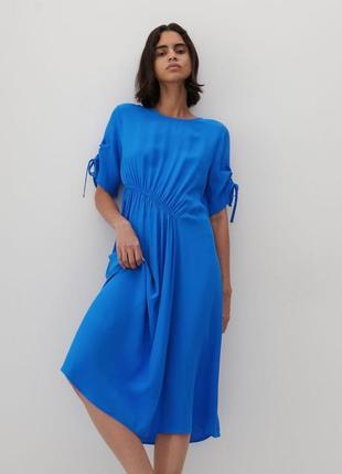 Новое платье в синем оттенке