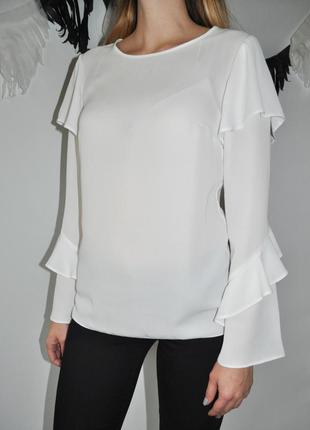 Блуза george с рюшами на рукавах