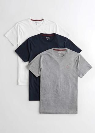 Комплект из 3 мужских футболок hollister 🕊usa