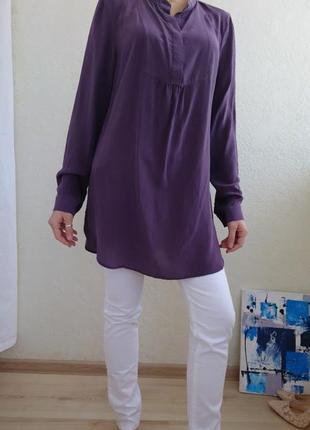 Рубашка натуральный шёлк 100%