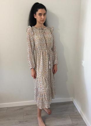 Сукня квіткова платье в цветочек кружево