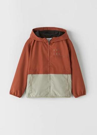Легка спортивна куртка  з кольоровими блоками, zara, оригінал, з німеччини!