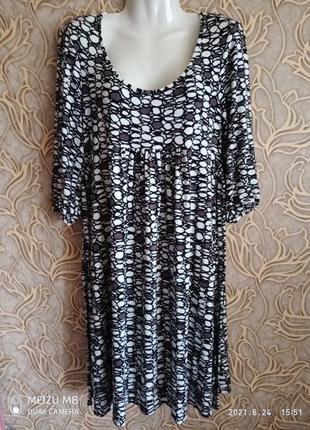 Вискозное платье principles petite /размер 12/40