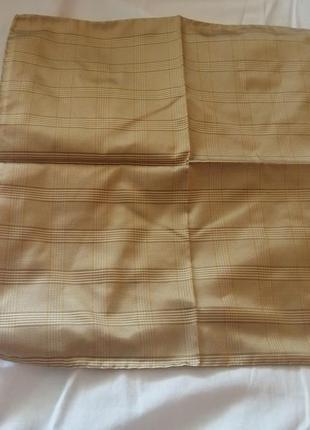 Итальянский шелковый мужской карманный платок