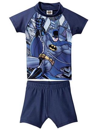 Солнце защитный купальный костюм lupilu batman