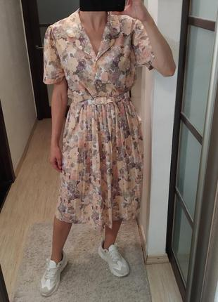 Элегантное английское платье под пояс miss mary of sweden.