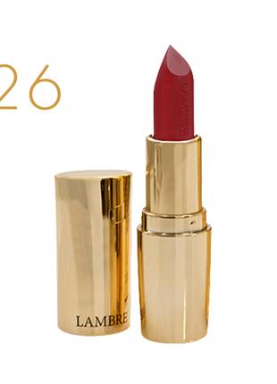 Классическая помада classic exclusive colour №26 красные маки - полуматовый