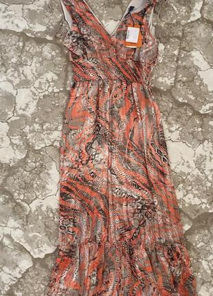 Платье сарафан trussardi