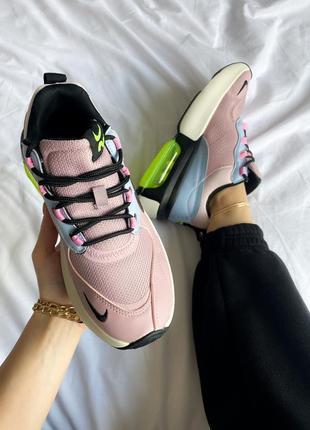 Женские кроссовки nike air max verona pink green,кросовки найк аир макс верона розовый  шнуровка