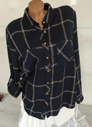 Классная мягенькая рубашка из вискозы