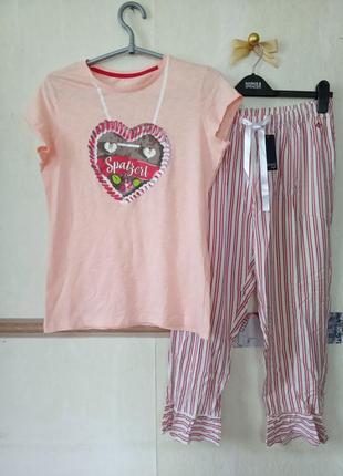 Уютный домашний комплект пижама эсмара