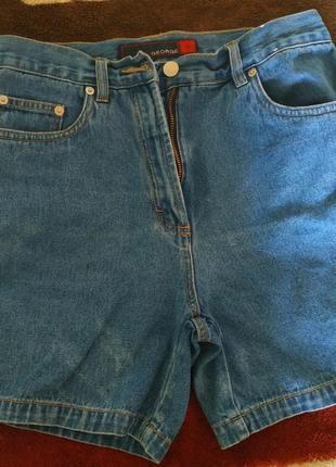 Стильные джинсовые шорты,добротное качество, размер 40eur.