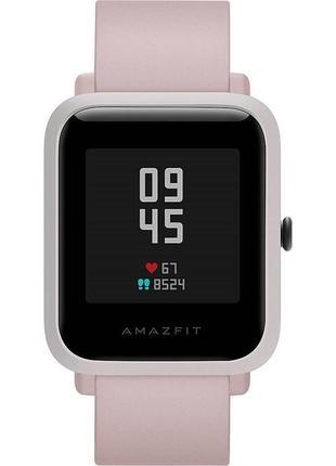 New смарт часы xiaomi amazfit bip s warm pink розумний годинник