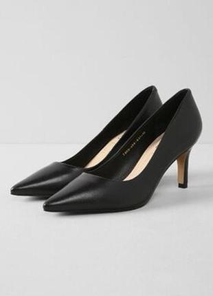Кожаные туфли кожаные лодочки туфли на каблуке рюмка hogl брендовые туфли оригинал