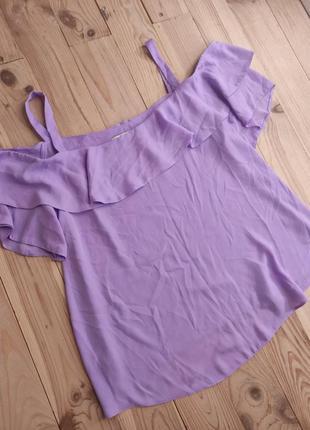 Блуза лилового цвета