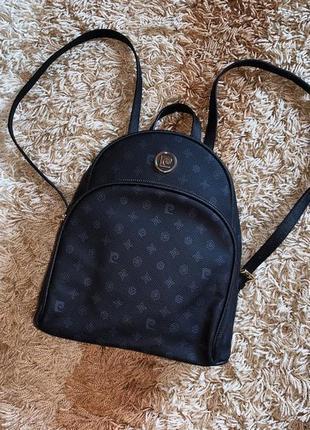 Рюкзак небольшой pierre cardin монограмный оригинал