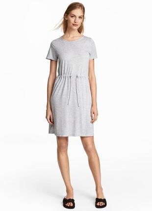 H&m платье трикотаж 52-54, батал