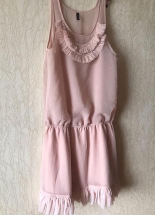 Шифоновое платье 150 грн