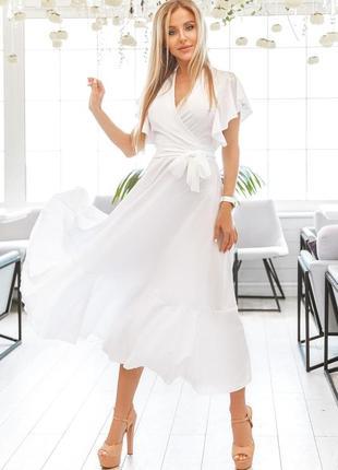 Красивое летнее платье3 фото