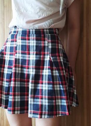 Мягкая юбочка в складку h&m