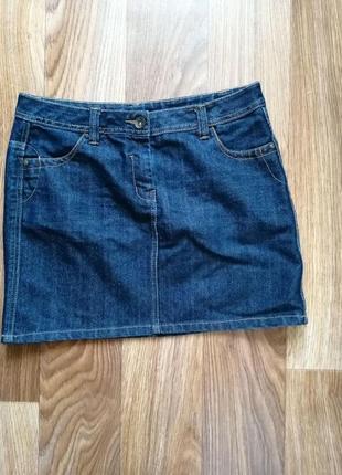 Юбка джинсовая м-l
