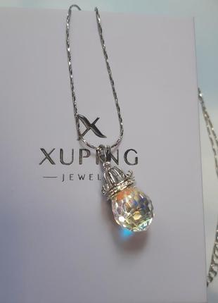 Кулон  xuping с кристаллом swarovski 💎
