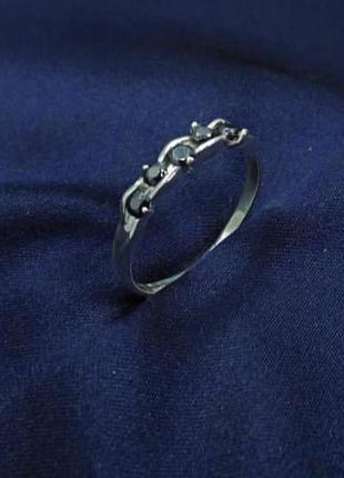 Кольцо серебро 925 колечко имп 10240