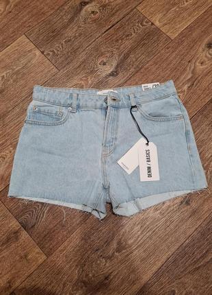 Новые джинсовые шорты mango р.36-38